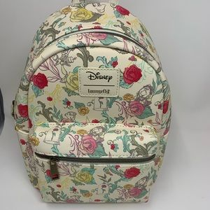 Disney Beauty and the beast x loungefly  bag